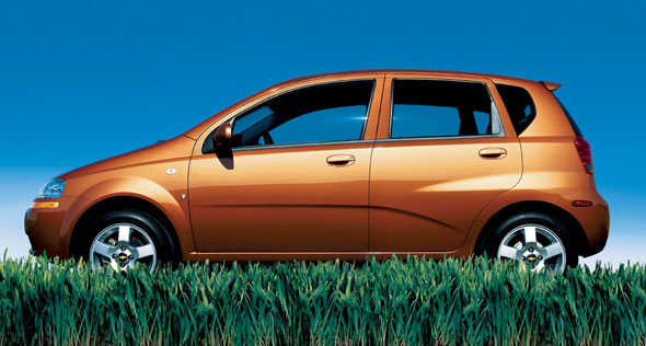 2007 Chevrolet Aveo Owner Manual