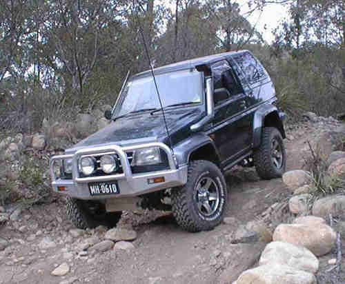 Extreme Feroza 2.8td first time offroad - YouTube