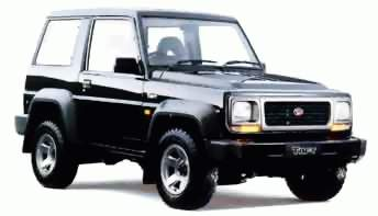 1991 Daihatsu Taft, Hiline And Rocky ( F70,F75,F77 ) Service Manual