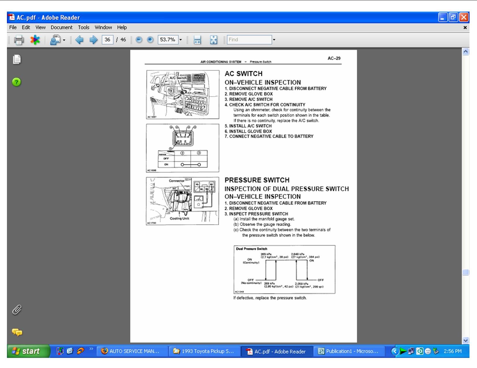 toyota hilux 1993 workshop manual
